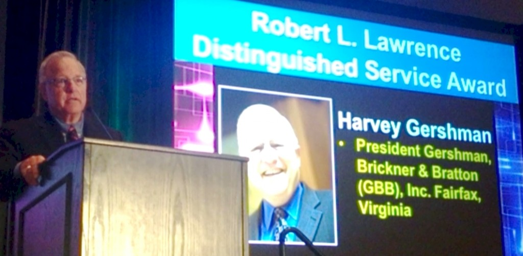 Harvey Gershman Awarded SWANA's Robert L. Lawrence Distinguished Service Award