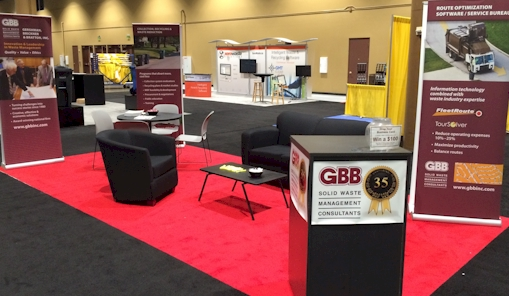 GBB WASTECON booth
