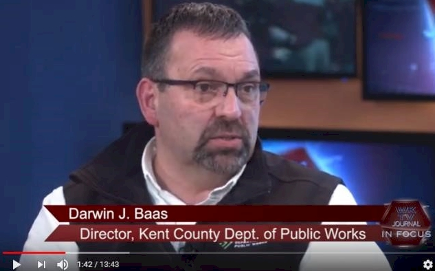 In a 12-minute interview on WKTV, Darwin Baas (Director of the Kent County, MI, Department of Public Works) discussed details of the Sustainable Business Park Master Plan.