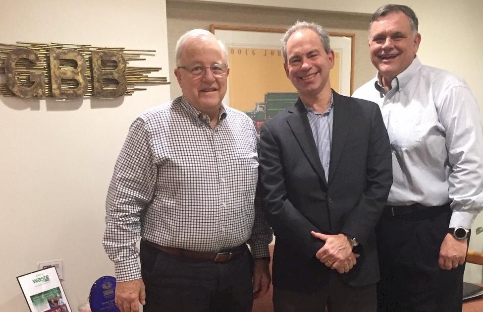 Harvey Gershman, David Biderman, and Steve Simmons.