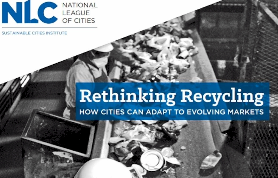 New National League of Cities Report on Recycling Co-authored by GBB Project Manager Corinne Rico