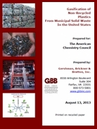 Report on Conversion of Waste Into Energy via Emerging Gasification Technologies