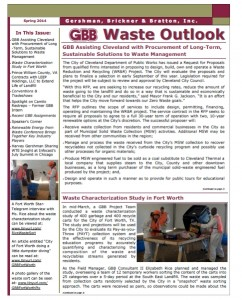 GBB Waste Outlook Newsletter - Spring 2014