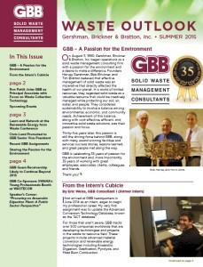 GBB Waste Outlook - Summer 2015