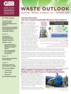GBB Waste Outlook Newsletter - Summer 2018