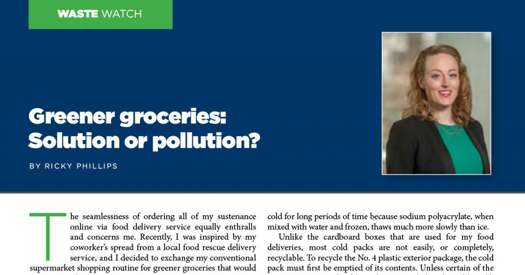 Greener groceries: Solution or pollution?