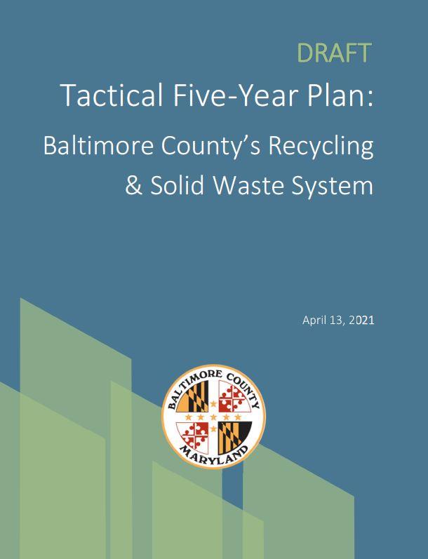 Baltimore County Tactical Plan