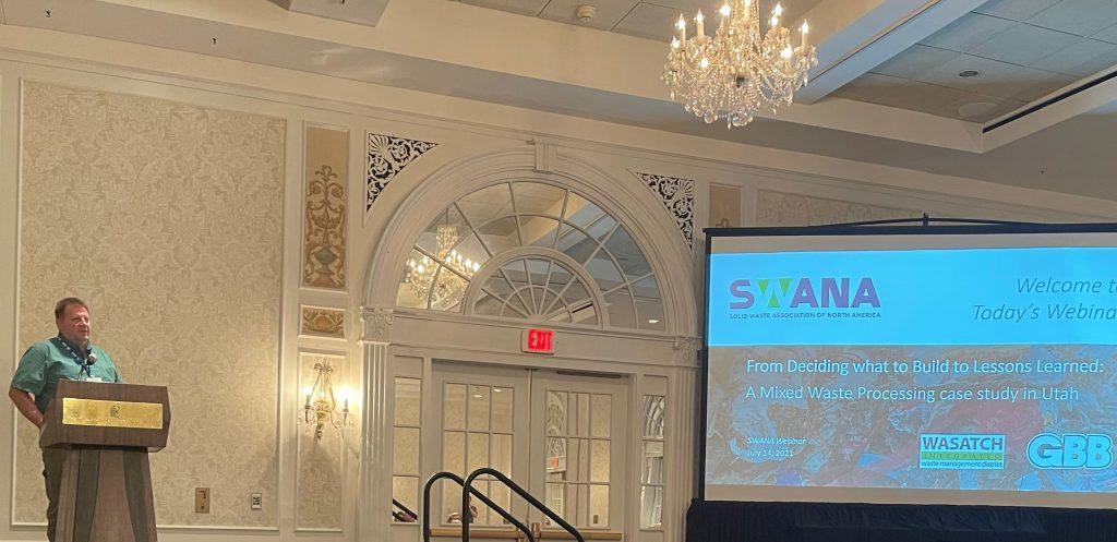 Brad Kelley at the SWANA Region 6 Conference - 2021